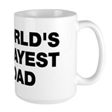 World's Okayest Dad Tasse