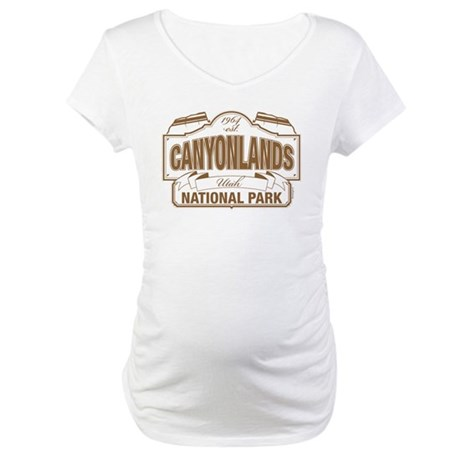 Canyonlands National Park Maternity T-Shirt