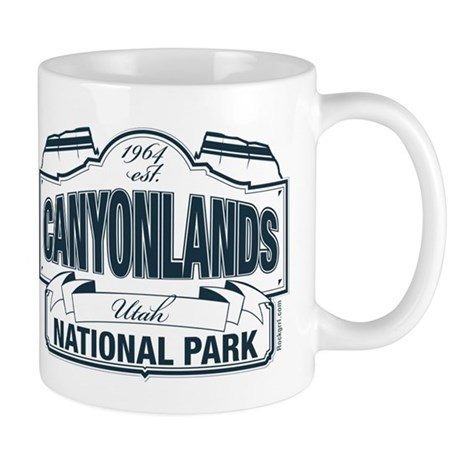 Canyonlands Blue Sign Mug