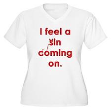 feel a sin Plus Size T-Shirt