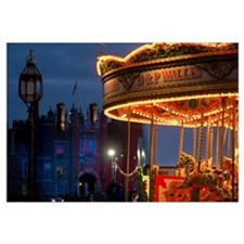 Merry Go Round, Hampton Court, London, Uk