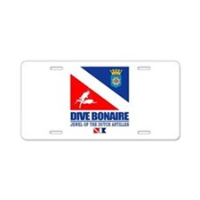 Dive Bonaire Aluminum License Plate