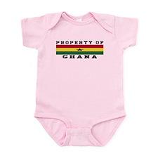 Property Of Ghana Infant Bodysuit