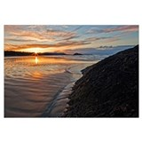 Sunrise At Long Beach, Pacific Rim National Park,