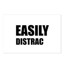 Easily Distracted Postcards (Package of 8)