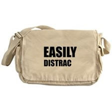 Easily Distracted Messenger Bag