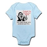 Dracula Halloween Infant Bodysuit