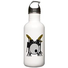 Drum Set Water Bottle