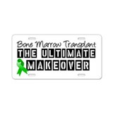 Bone Marrow Transplant Makeover Aluminum License P