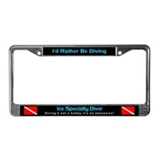 Ice Specialty Diver, License Plate Frame
