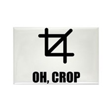Oh Crop Rectangle Magnet (100 pack)