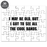 Old See Cool Bands Puzzle