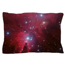 Cosmic Crimson Pillow Case