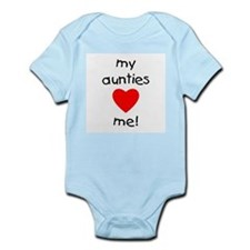 My aunties love me Infant Bodysuit