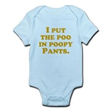 Poopypants Body Suit