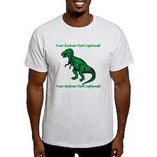 CUSTOM TEXT T-Rex T-Shirt