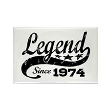 Legend Since 1974 Rectangle Magnet