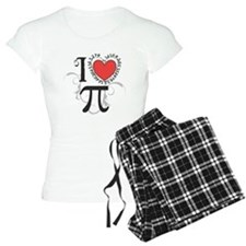 I Heart Pi Women'S Light Pajamas