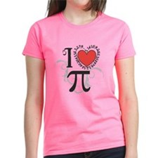 I Heart Pi Women'S Dark T-Shirt