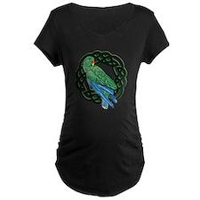 Celtic Eclectus Parrot T-Shirt