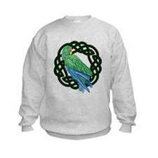 Celtic Eclectus Parrot Sweatshirt