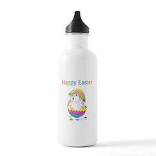 Happy Easter Sports Water Bottle