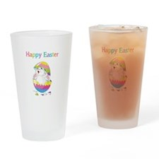 Happy Easter Drinking Glass