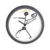 Doodle Art Wall Clock