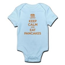 Keep Calm And Eat Pancakes Infant Bodysuit