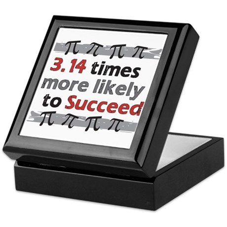 Pi Success Funny Math Keepsake Box