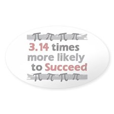 Pi Success Funny Math Decal