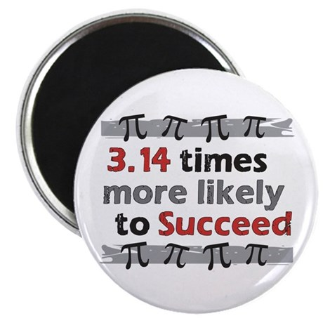 Pi Success Funny Math Magnet