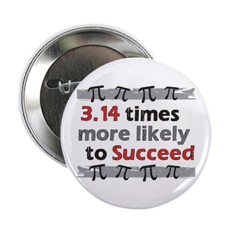 "Pi Success Funny Math 2.25"" Button"
