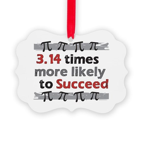 Pi Success Funny Math Ornament