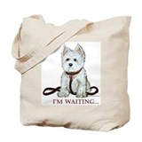 Westie Walks Tote Bag