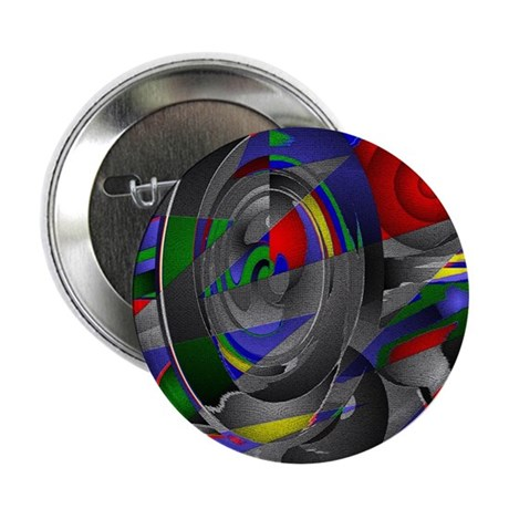 "Abstract 002a 2.25"" Button (100 pack)"