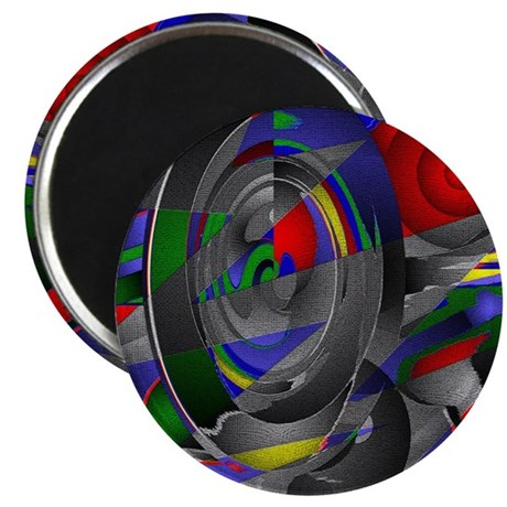 "Abstract 002a 2.25"" Magnet (100 pack)"