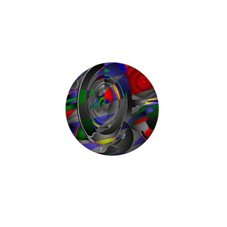 Abstract 002a Mini Button (100 pack)