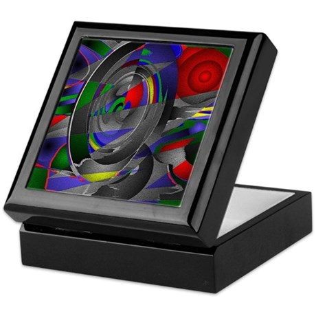 Abstract 002a Keepsake Box