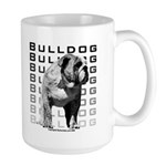 Large Bulldog Mug - Urban Bulldog Design