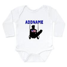 SUPER GYMNAST Long Sleeve Infant Bodysuit
