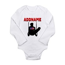 AMERICAN GYMNAST Long Sleeve Infant Bodysuit