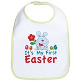 It's my first easter Bib