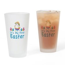 It's my first easter Drinking Glass