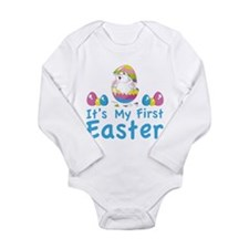 It's my first easter Long Sleeve Infant Bodysuit