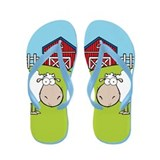 Sheep Farm Flip Flops