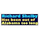No Richard Shelby Bumper Sticker
