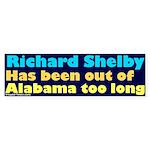 No Richard Shelby Bumper Sticker