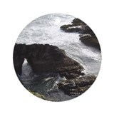 Sea Cave, Point Arena Ornament (Round)