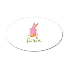Easter Bunny Karla Wall Decal
